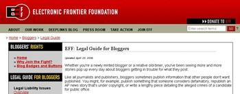 electronic-frontier-foundation-legal-guide-for-bloggers